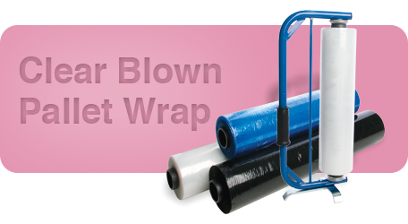 Clear Blown Pallet Wrap