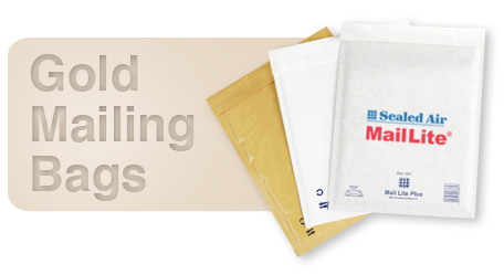 MailLite Gold Mailing Bags