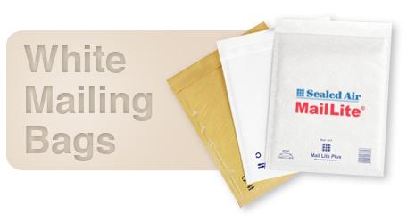 MailLite White Mailing Bags