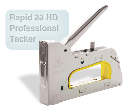 Rapid 33 HD Professional Tacker
