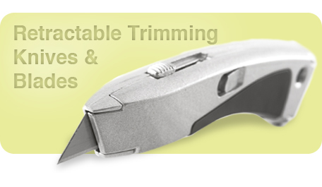 Retractable Trimming Knives & Blades