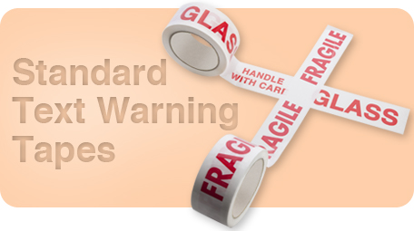 Standard Text Warning Tapes